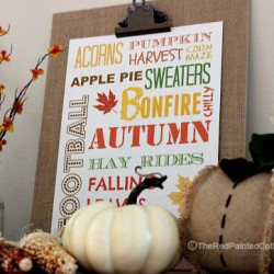 Our Fall Entry And A Free Printable