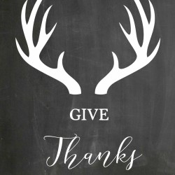 Give Thanks – Free Printables