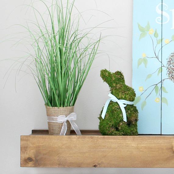 "DIY ""Think Spring"" Decorating"