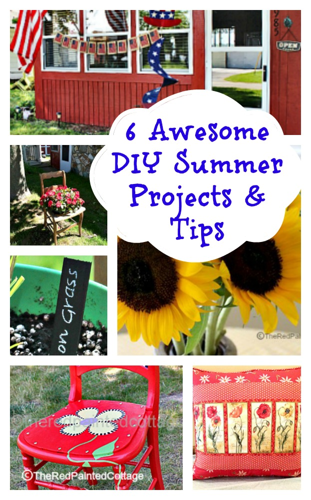 Summer DIY Collage