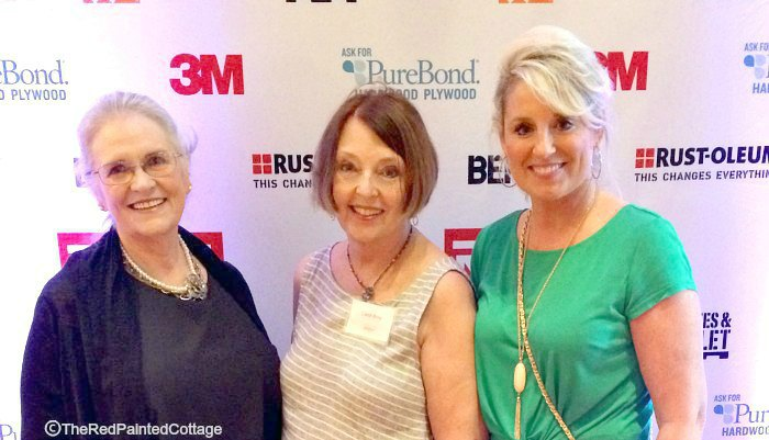 Jody, My Southern Legacy; Carol, The Red Painted Cottage; Toni, Design Dazzle