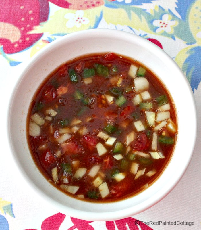 Recipe for Easy and Flavorful Gazpacho