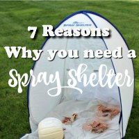 7 Reasons Why You Need A HomeRight Small Spray Shelter