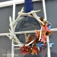 How To Decorate A Faux Antler Wreath For Seasons Throughout The Year