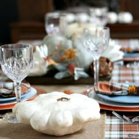Rustic Thanksgiving Tablescape – No Place Like Home
