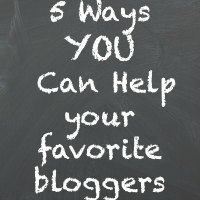 5 Ways You Can Help Your Favorite Bloggers