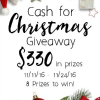 Autumn and Give Thanks Printable + Cash For Christmas Giveaway