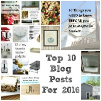 Top 10 Blog Posts For 2016