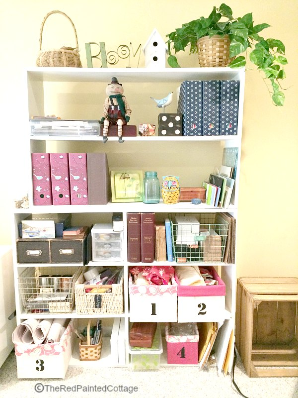 Make Your Craft Room Work For You - The Red Painted Cottage