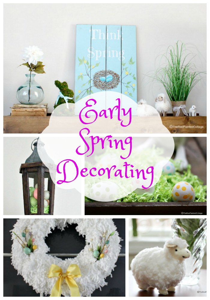 Early Spring Decorating