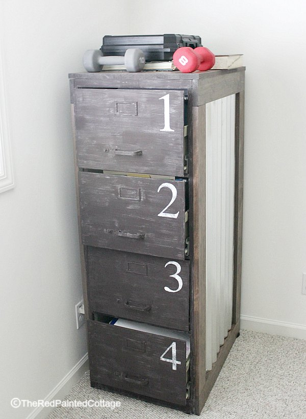 One Room Challenge, Week 3, File Cabinet