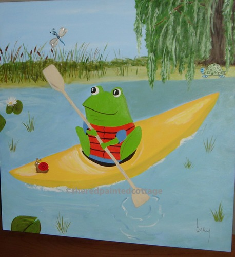 On Corbin's Pond