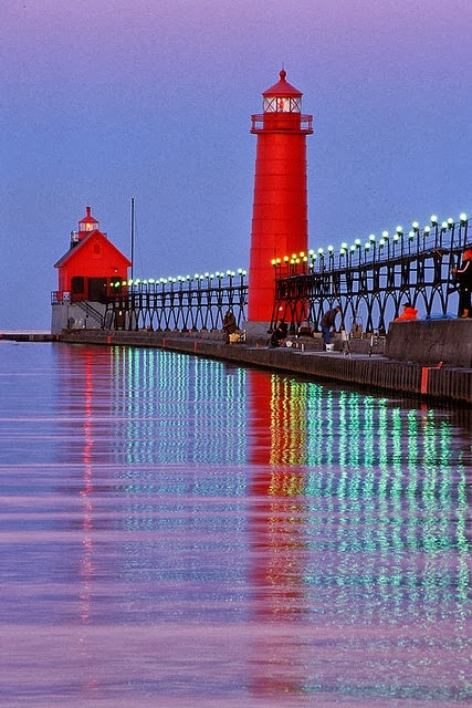 Michigan's Lighthouses, Day 9 of Blogtoberfest
