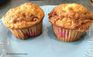 Oh So Yummy Red Raspberry Muffins