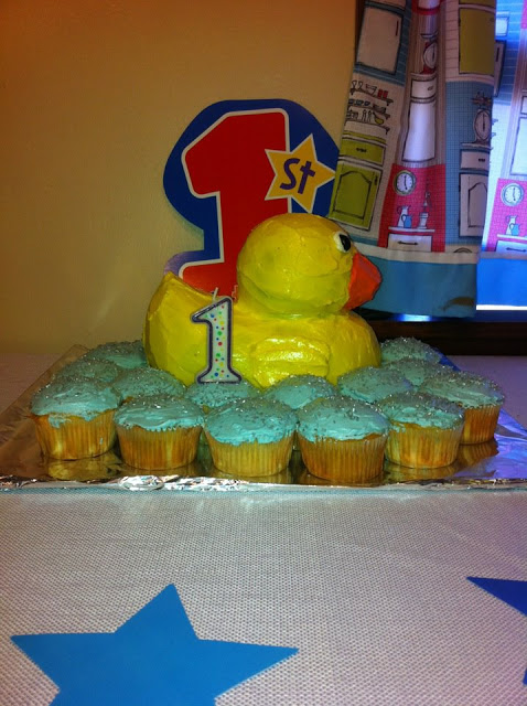 Corbin's first birthday