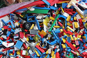 A Gold Mine in Legos