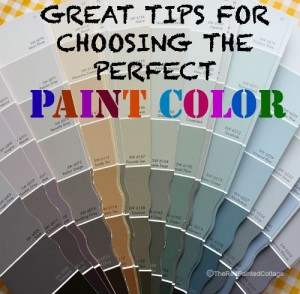 Great Tips for Choosing The Perfect Paint Color