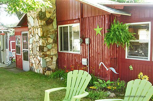The Red Painted Cottage - About Me