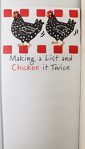 Making A List And Chicken It Twice – Our Kitchen Command Center