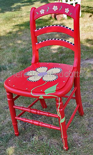A Free Printable Pattern For A Celebration Of My Whimsical Chair