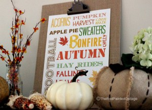 Our Fall Entry And A Fall Printable