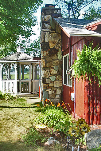 Let's Go For A Tour Of Our Red Painted Cottage