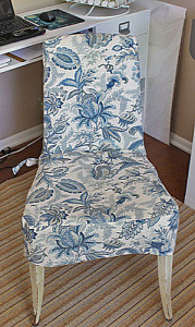 Slipcovered Chair Tutorial, Part I