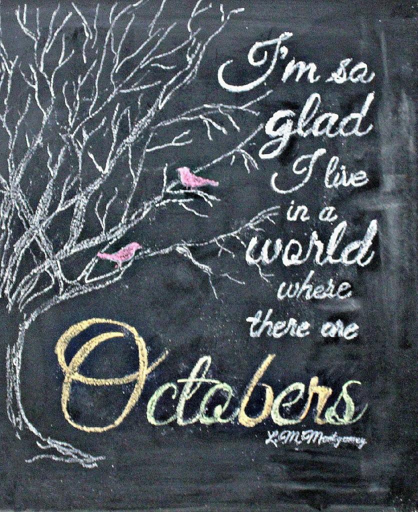 Thursdays Ramblin' – Why I Love October