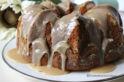 Pumpkin Pound Cake With Burnt Butter Icing