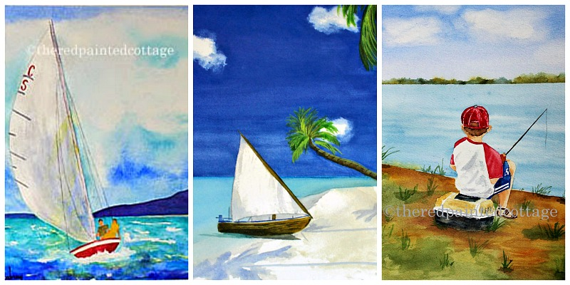 watercolorcollage