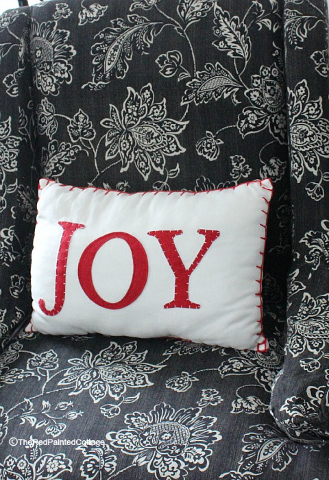 Christmas joy pillow