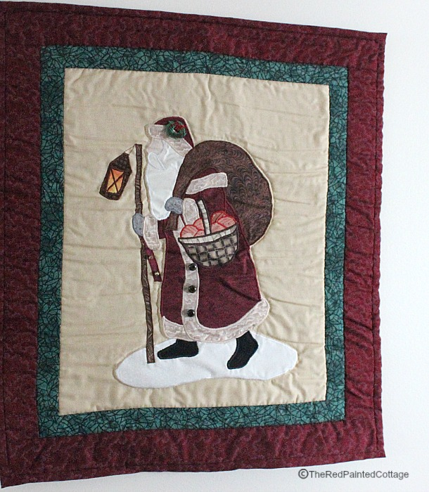 Christmas quilt1