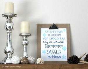 Free Winter Printable