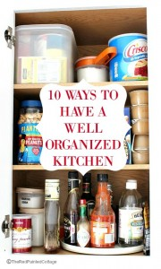 10 Ways To Have And Keep A Well Organized Kitchen