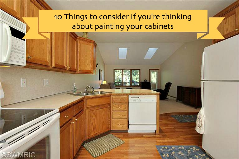 10 Things To Consider If You're Thinking About Painting Your Cabinets