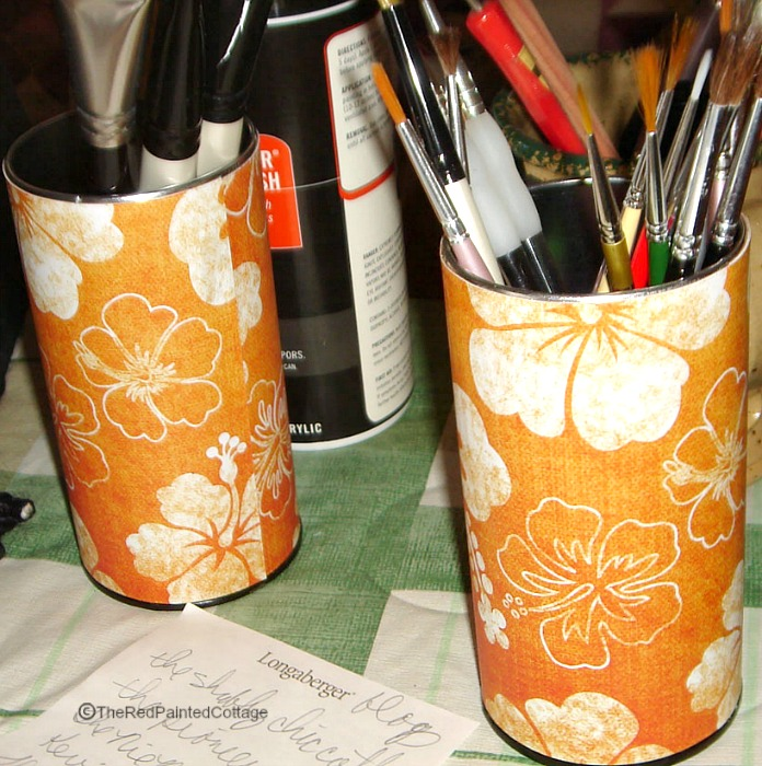 DIY Pencil and Paintbrush Holders