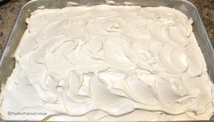 Mock Whipped Cream Frosting