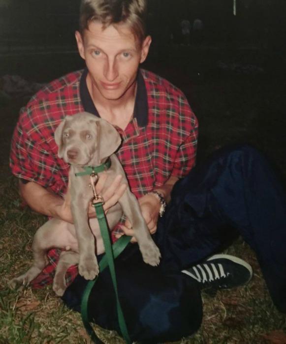 Mercedes puppy