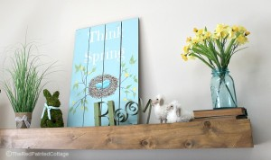 "DIY ""Think Spring"" Decorating"