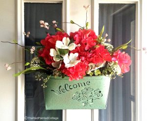Sprucing Up Our Front Door and Porch For Spring