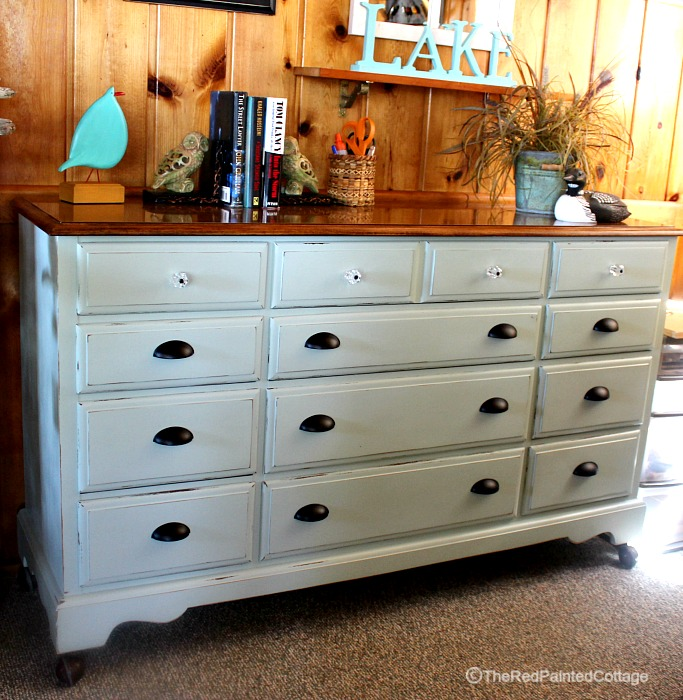 Transforming My Childhood Dresser
