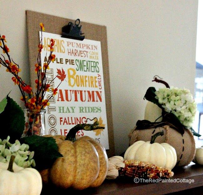 Autumn Free Printable