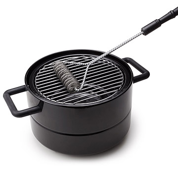 Bristle free grill brush