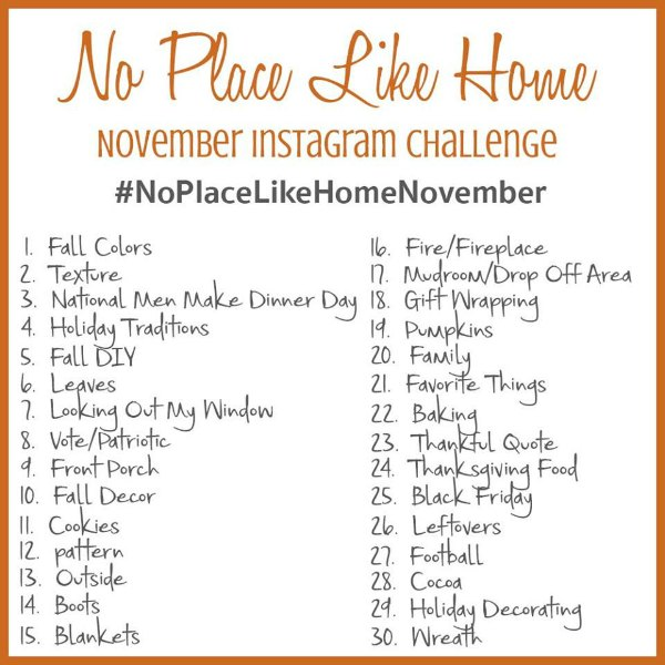 november-ig-challenge - The Red Painted Cottage