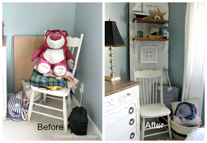 One Room Challenge, Master Bedroom Reveal - The Red Painted Cottage