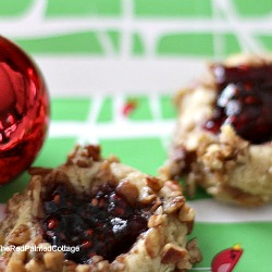 thumbprint-cookies - The Red Painted Cottage