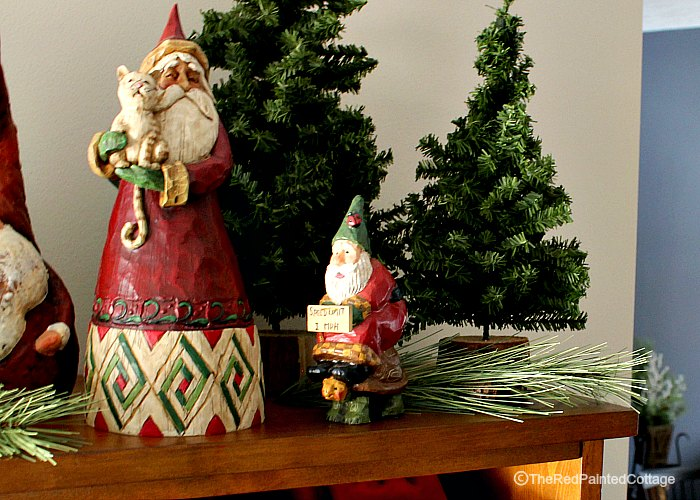 2016 Christmas Home Tour, Part 1 - The Red Painted Cottage