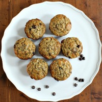 The Best Banana Chocolate Chip Muffins