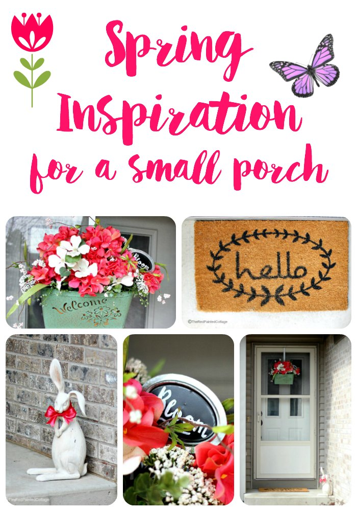 Spring Inspiration For A Small Porch