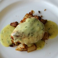 Chicken Tchoupitoulas (Cajun Chicken with Bearnaise Sauce)